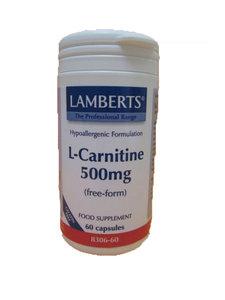 L-carnitine 60 capsules van Lamberts
